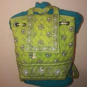 Gorgeous Green VERA BRADLEY Backpack